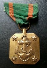 USA MILITARY ARMED FORCES MARINE MEDAL WITH ANCHOR 28.47 GRAMS 37.5 MM