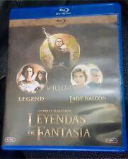 PACK BLU RAY LEYENDAS DE FANTASÍA WILLOW LEGEND LADY HALCON CASTELLANO