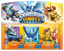 Skylanders Giants Triple 3 Pack Pop Fizz Trigger Happy Whirlwind
