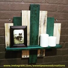 Pallet wall shelf, rustic decor, reclaimed wood shelf, wall shelves, Handmade