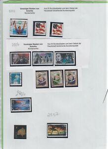 351 - USA - Lot aus  2003 - 2011    gestempelt