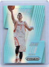 "2013-14 PANINI PRIZM #3 JEREMY LIN ""BRILLIANCE BLUE PRIZM"" SP #115/199, ROCKETS"