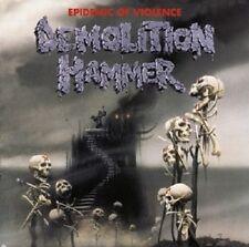 """DEMOLITION HAMMER """"EPIDEMIC OF VIOLENCE"""" CD RE-RELEASE"""