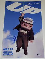 ED ASNER Signed 11x17 Up Movie Poster Photo Carl Fredricksen Beckett COA BAS