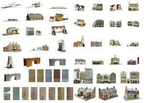 SuperQuick OO/HO building card kits for model railway
