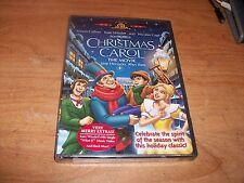 Christmas Carol: The Movie Celebrate The Spirit Of The Season (DVD, 2003) NEW