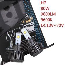 V16 H7 80W 6000K 9600LM Kit Cree Car LED Headlight Beam Bulbs Turbo Conversion