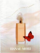 ▬► PUBLICITE ADVERTISING AD Parfum Perfume Hanae Mori