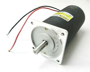 "DC Motor 300 Watt Output 90VDC - Current 4.3 Amp - DGM Korea 0.4HP 1/2"" Shaft"