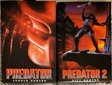 "NECA PREDATOR, 7"" JUNGLE HUNTER, & CITY HUNTER ULTIMATE FIGURES (TOGETHER), NEW"