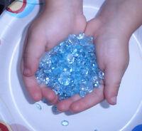 Sky Blue topaz natural gem loose faceted  mix over 50 carats