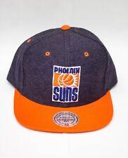 wholesale dealer ea829 7ba9b Mitchell   Ness Phoenix Suns Denim Harry 2 Tone Snapback Hat