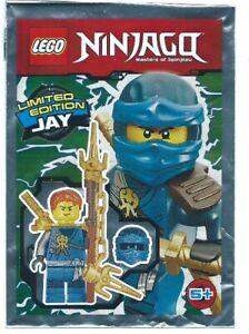 Lego Ninjago - Jay - Foil Pack #3 - 891721 njo287 - New & Sealed 2017