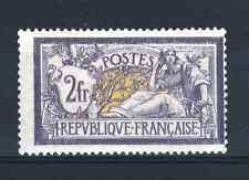 "FRANCE STAMP TIMBRE N° 122 "" TYPE MERSON 2F VIOLET ET JAUNE "" NEUF x TB  R090"