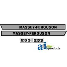 Massey Ferguson 253 decal set