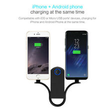 Multi Function Emergency Power Bank Flashlight Keychain Support iPhone & Android