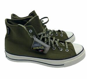 $120 NIB Converse GORE-TEX Utility HI Chuck 70 Boots Shoes 168859C Moss