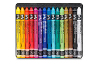 Caran d'Ache NEOCOLOR II Wax Oil Pastel 15 Colors Water-soluble Creamy Artist