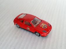 Rare Majorette #201/202 Super S Fiat Coupe In Red With F.C.B. FCB / VGC / LOOSE