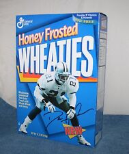 DEION SANDERS Prime Time HOF Cowboys 1995 HONEY FROSTED WHEATIES Cereal Box
