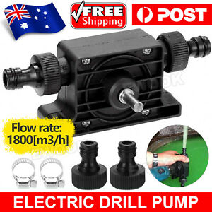 1Pack Self-Priming Transfer Oil Fluid Pumps Electric Drill Powered Water Pump