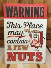 Nuts Home Theater Drive In Cinema Poster Movies Movie Dvd Tv Metal Decor Soda
