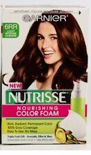 1X Garnier Nutrisse Nourishing Color Foam 6RR Light Intense Auburn NEW.