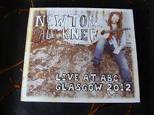 Slip Double: Newton Faulkner : Live 2012 : At The ABC Glasgow Scotland