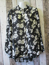 Blouse Collared Floral Formal Tops & Shirts for Women