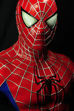 RED SPIDER-MAN LIFE SIZE BUST 1/1 SCALE CUSTOM STATUE HOT SPIDERMAN TOY XM