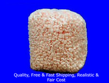 Pink Popcorn 35 Cu Ft Anti Static Packing Peanuts Free Shipping Us Seller