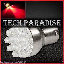 1x Ampoule 12 LED Bulb Rouge Red feux stop P21W / BA15S / 1156 / R5W 12V