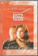 TRE COLORI - FILM ROSSO - DVD (NUOVO SIGILLATO) K. KIESLOWSKI