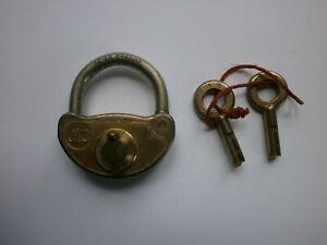 Ancien cadenas JLC en  acier trempé