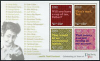 Ireland Stamps 2020 MNH Father Ted Comedy TV Series 25 Years 3v M/S