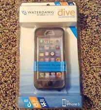 Waterdawg The Dive Waterproof Case For iPhone 5 - Black
