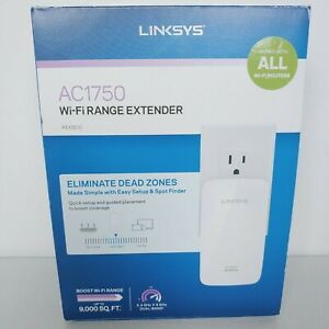 LINKSYS RE6800 AC1750 802.11ac Plug In WI-FI RANGE EXTENDER