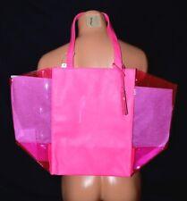 Victorias Secret Large Jelly Beach Tote Bag Travel Shopper NWT