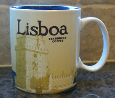NWT Starbucks LISBOA (LISBON) Portugal Global Icon City Collector Mug with SKU