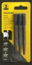STANLEY 58-230  3 PIECE NAIL PUNCH SET