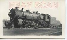 8A066 RP 1937 CIL MONON RAILROAD 4-6-2 ENGINE #451 SOUTH HAMMOND IN