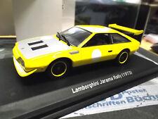 LAMBORGHINI Jarama Rallye Coupe  gelb 1973 NEW IXO White Box 1:43
