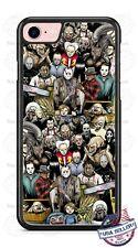 Freddy Krueger Alien Chucky Pin Head Phone Case For iPhone 11 Samsung Google LG
