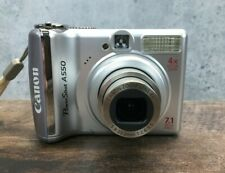 Canon PowerShot A550 AiAF 7.1mp 4x Optical Zoom Digital Camera