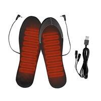 USB Elektrisch Beheizt Einlegesohlen Sohlen Pads Winter Fuß Wärmer Einlegesohl