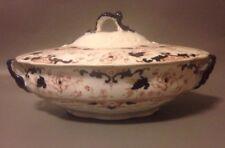 Victorian Leighton lidded tureen 19th century antique pottery 300714