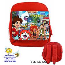 sac à dos robuste enfant Yo-kai watch personnalisé avec prenom réf 14