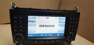 Radio Navigation CD COMAND Mercedes W203 FL C KLASSE Navi BE6096 2007 Bj.