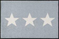 Wash Dry 056003 Fußmatte Stars 50 X 75 Cm grau