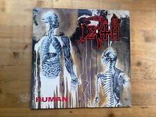 Death Human 1991 1st Press Excellent Vinyl LP Record Album RC9238